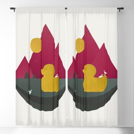 Duck Dance Blackout Curtain