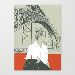 The Bridge Canvas Print