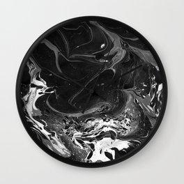 // MARBLED BLACK // Wall Clock