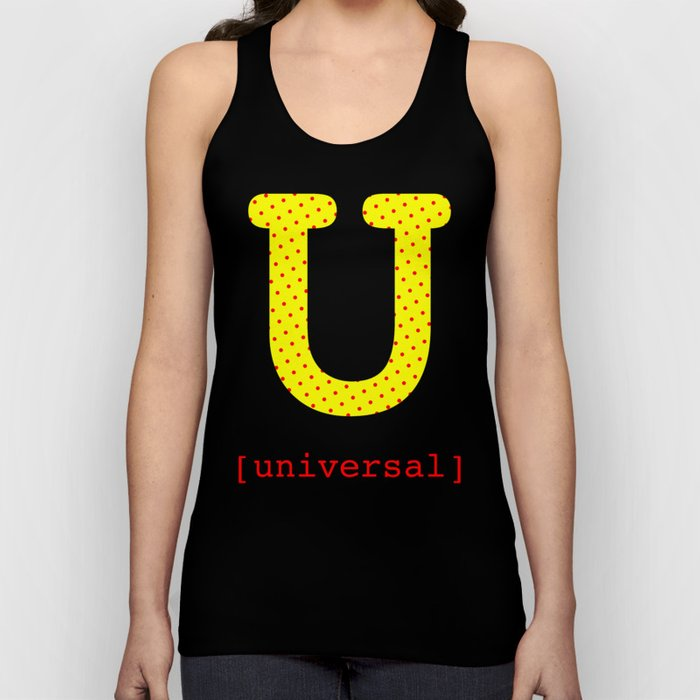 #U [universal] Unisex Tank Top