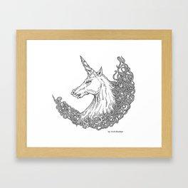 The Unicorn Framed Art Print