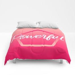 Powerful - Feelings series Comforters