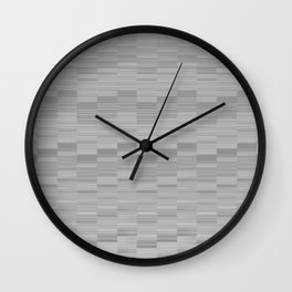 Serene Minimal Design in Dove Grey Wall Clock