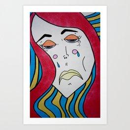 Sad trip Art Print