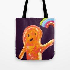 el monstruo anaranjado Tote Bag