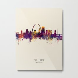 St Louis Missouri Skyline Metal Print