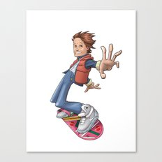 Marty Canvas Print