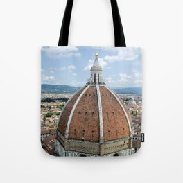 florence cathedral, italy. Tote Bag