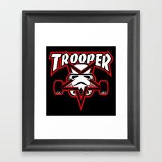 Trooper magazine Framed Art Print