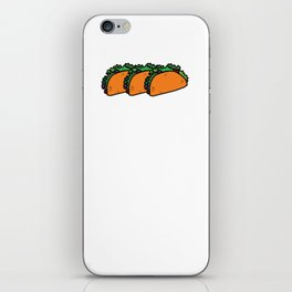 Everyday is Taco Tuesday if You Try Hard Enough T-shirt iPhone Skin