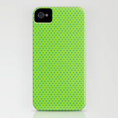 Picnic Pals mini dot in citrus Slim Case iPhone (4, 4s)