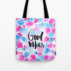 Good Vibes [Collaboration with Jacqueline Maldonado] Tote Bag