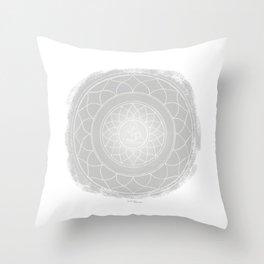 SAHASRARA Boho mandala Throw Pillow
