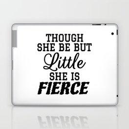 Little & Fierce Laptop & iPad Skin