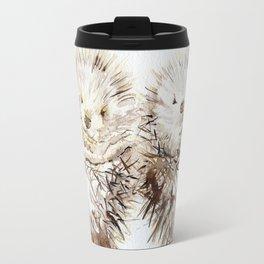 Hedgehog Cuddles Travel Mug