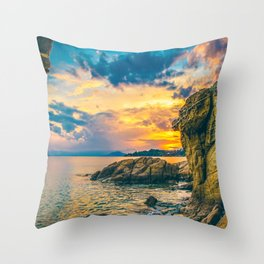 Secret Paradise Throw Pillow