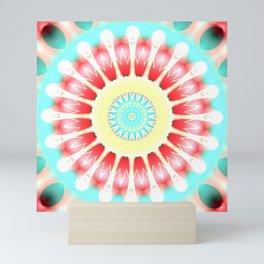 Mandala wake up Mini Art Print