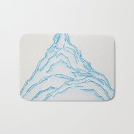 Mountain Madness, No. 6 Bath Mat