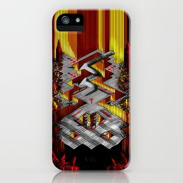 Marble Madness: Where Good Marbles Go To Die iPhone Case