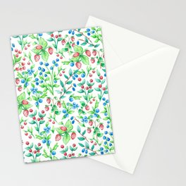 Berry Love Stationery Cards