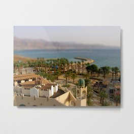 Israel & Jordan on the Gulf of Aqaba Metal Print