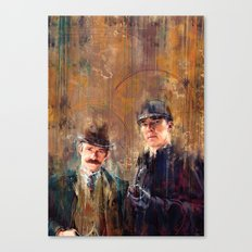Sherlock Special Canvas Print
