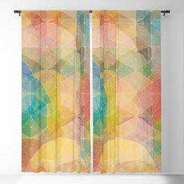 Color Pattern Blackout Curtain