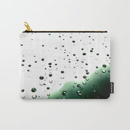Digital Rain Drops Carry-All Pouch