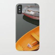 Rockport Rowboats 2 Slim Case iPhone X