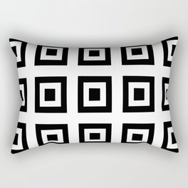 Tribute to mondrian 6- piet,geomtric,geomtrical,abstraction,de  stijl , composition. Rectangular Pillow