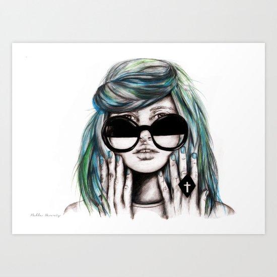 Fiona Wildfox  Art Print
