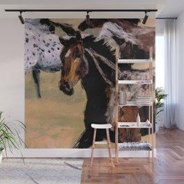 Galloping Horse Close-Up Wall Mural