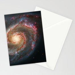 Whirlpool Galaxy and Companion Galaxy Stationery Cards