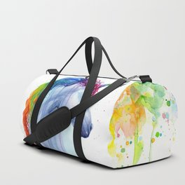 Magical Rainbow Unicorn Duffle Bag