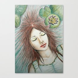 Ophelia (Perfect Water) Canvas Print