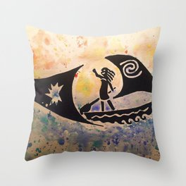 We Were Voyagers Throw Pillow