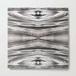 89 - Tire tracks abstract Metal Print