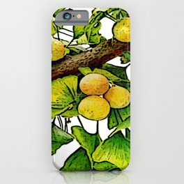 gingko immerse relaxation iPhone Case