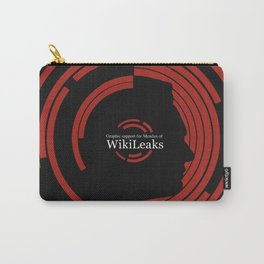 Graphic support for Wikileaks and JA Carry-All Pouch