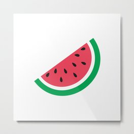 You're One in a Melon Metal Print