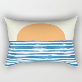 When The Sun Comes Up Rectangular Pillow
