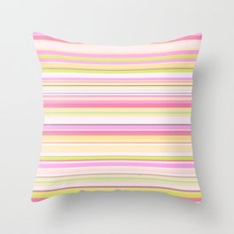 Stripe // GFT-Stripe002 Throw Pillow