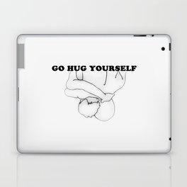 Go Hug Yourself Laptop & iPad Skin