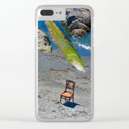 A place to sit Clear iPhone Case