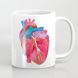 Anatomical Heart Coffee Mug
