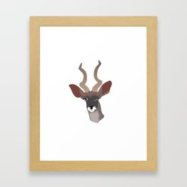 KUDUS TO THAT Framed Art Print