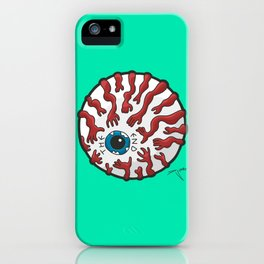 The End Eye iPhone Case