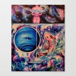 Zodiac Sign - Pisces Canvas Print
