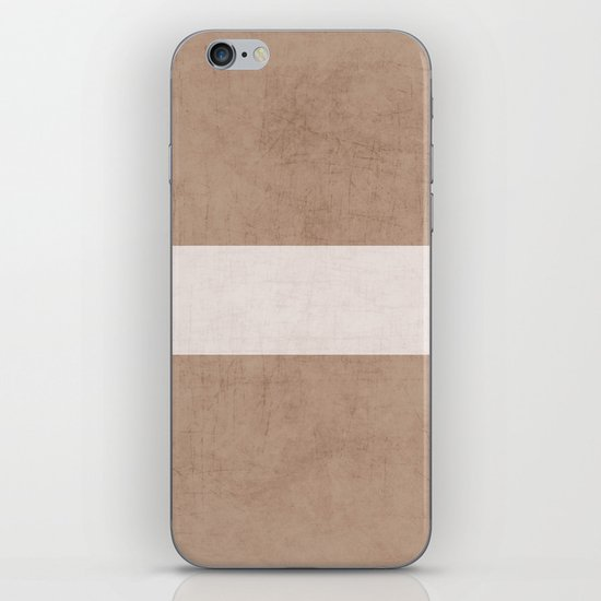 natural and white classic iPhone & iPod Skin