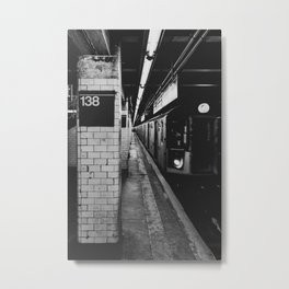 138th Street & Grand Concourse Metal Print